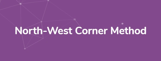 north-west-corner-method