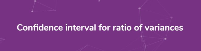 Confidence-Interval-ratio-variance