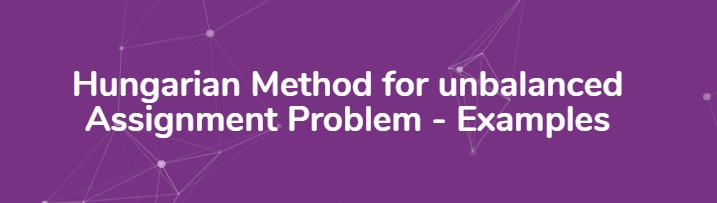 hungarian-method-assignment-problem-examples