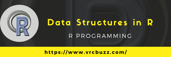 Data Structures in R