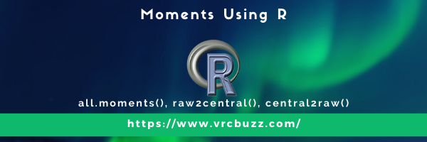 moments using R