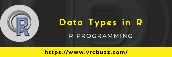 Data Types in R