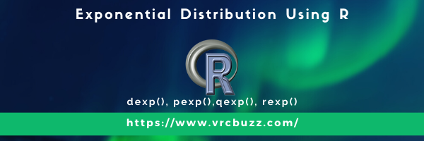 Exponential Distribution Using R