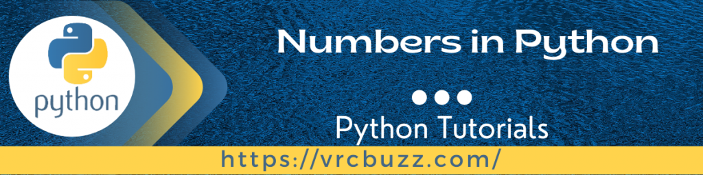 Numbers in Python
