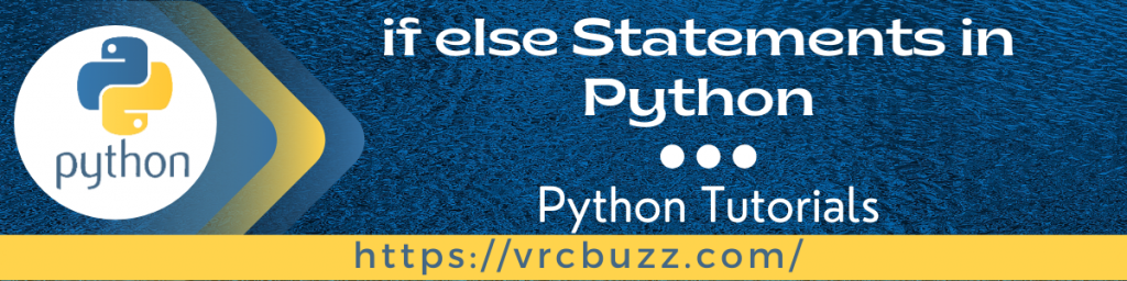 If-Else Statements in Python